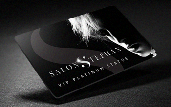 Salon Stephan VIP Platinum Status Card